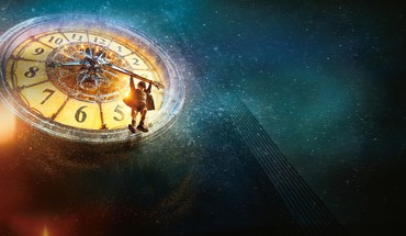 Hugo movie artwork clock tower movies HD wallpaper