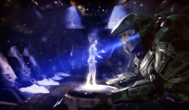 Cortana master chief halo 4 HD wallpaper
