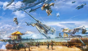 Final fantasy xii vaan airship vehicles HD wallpaper