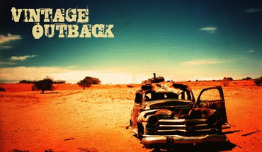 Outback deserts old vintage HD wallpaper