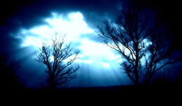 Heaven mystique blue clouds julian lorenz HD wallpaper