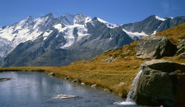 Switzerland lakes mountains range HD wallpaper