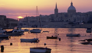 Sunrise church malta dome creek HD wallpaper