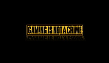Black background crime gaming text HD wallpaper