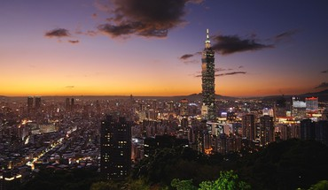 Taipei bâtiments paysages urbains nuages ​​Skyscapes  HD wallpaper