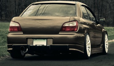 Japanese domestic market subaru wrx cars stance HD wallpaper