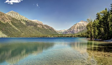 McDonald Lake Parc national de Glacier  HD wallpaper