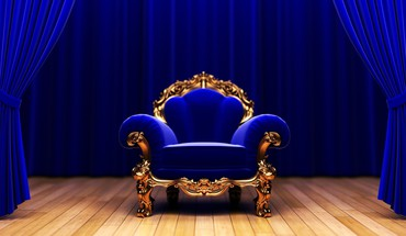 Blue couch studio king armchair HD wallpaper
