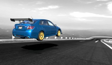 Subaru impreza wrx sti cars video games HD wallpaper