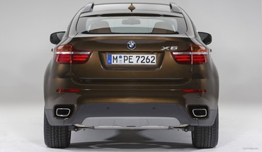 Bmw x6 cars rear view HD wallpaper