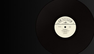 Minimalistic music record vinyl HD wallpaper