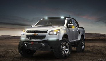 Chevrolet colorado cars rally vehicles HD wallpaper