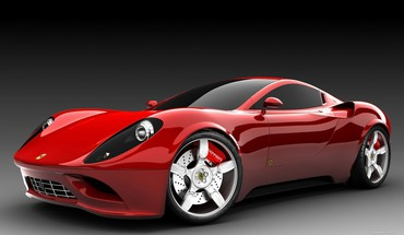 Ferrari dino concept cars HD wallpaper