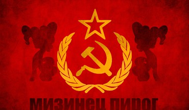 Magic pinkie pie soviet hammer and sickle HD wallpaper