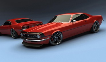 1969 Camaro SS Chevrolet automobiliai  HD wallpaper