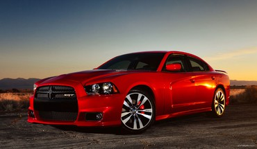 véhicules de Dodge Charger rouges  HD wallpaper