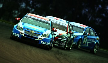Chevrolet cruze bmw 320si races racing wtcc HD wallpaper