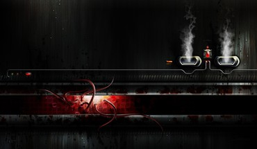 Cgi cables exhaust light smoke HD wallpaper
