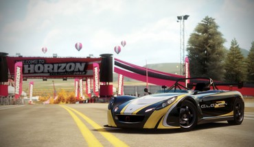 Видео игры лотос 2009 Forza Horizon HD wallpaper
