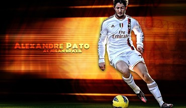 Soccer athletes alexandre pato football player HD wallpaper