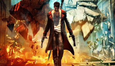 Jeux vidéo devil may cry dmc jeu art  HD wallpaper