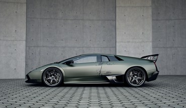Lamborghini murcielago cars side view skulls HD wallpaper