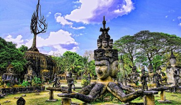 Buddhist civilizations HD wallpaper