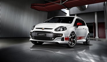 Fiat punto mitsubishi evo cars HD wallpaper