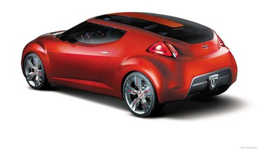 Hyundai Veloster концепт-кары  HD wallpaper