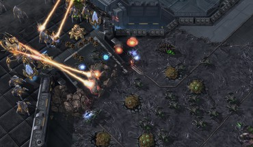 Starcraft ii swarm HD wallpaper