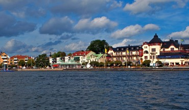 Vaxholm sweden HD wallpaper