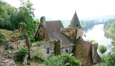Architecture buildings castles forests nature HD wallpaper