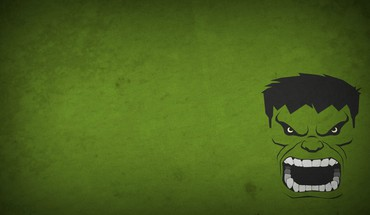 Character marvel comics blo0p green background minimalistic HD wallpaper