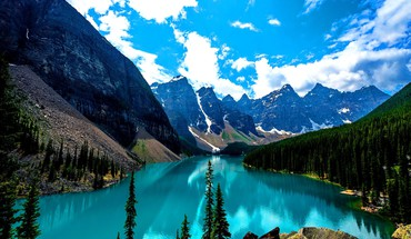 Moraine Lake canada  HD wallpaper