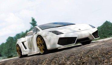 Lamborghini cars lowangle shot sema HD wallpaper