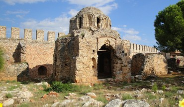 The time of byzantine church HD wallpaper