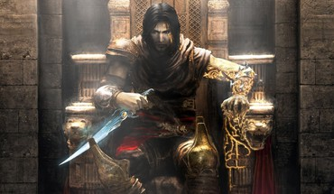 Prince of persia the two thrones daggers games HD wallpaper