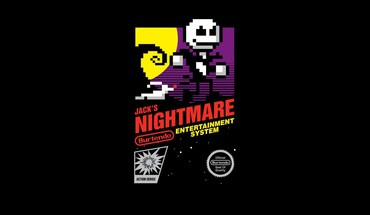 Nightmare before christmas retro games nes game HD wallpaper