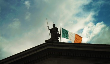 Ireland flags irish statues HD wallpaper