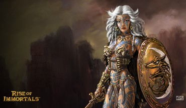 Fantasy art rise of immortals HD wallpaper