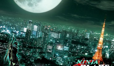 Tokyo cityscapes ninjas blade towers HD wallpaper
