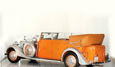 voitures Rolls Royce orange  HD wallpaper
