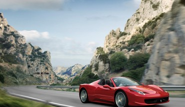Automobiliai Ferrari 458 voras  HD wallpaper