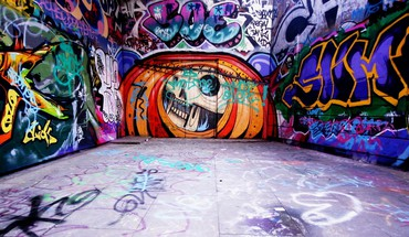 Graffiti wall art HD wallpaper