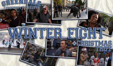 Community nbc fight winter HD wallpaper