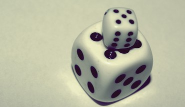 Abstract dice HD wallpaper