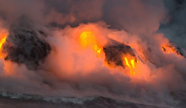 Hawaii national geographic landscapes lava mountains HD wallpaper