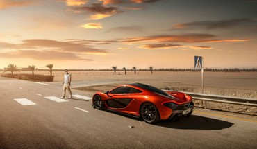 Automobiliai McLaren P1 x5  HD wallpaper