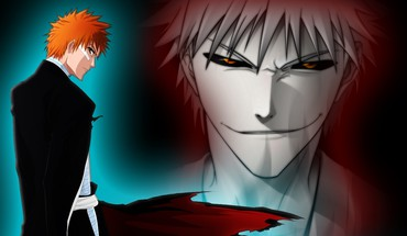 Bleach Ichigo Kurosaki creuse cheveux orange  HD wallpaper