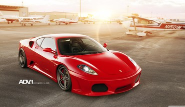 Ferrari cars red HD wallpaper